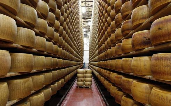 There's Just One Problem with America's Parmesan Cheese: Most of It Contains Wood