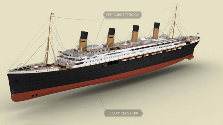 Titanic Replica To Be Completed & Set Sail by 2018