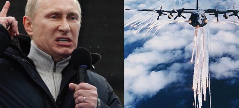 Putin Accuses U.S. Of Spraying Poisonous Chemtrails Over Syria