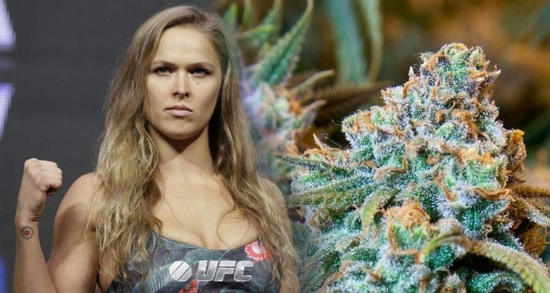 Ronda Rousey Gets It! She Just Took Over a Press Conference To Hammer The War on Marijuana