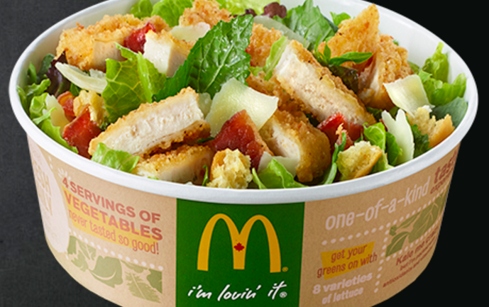"McDonald's Just Came Out with a ""Healthy"" Kale Salad, But there's just one Problem"