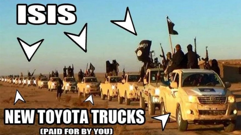 ISIS Islamic Terrorists are Supported by the US, Israel and Saudi Arabia