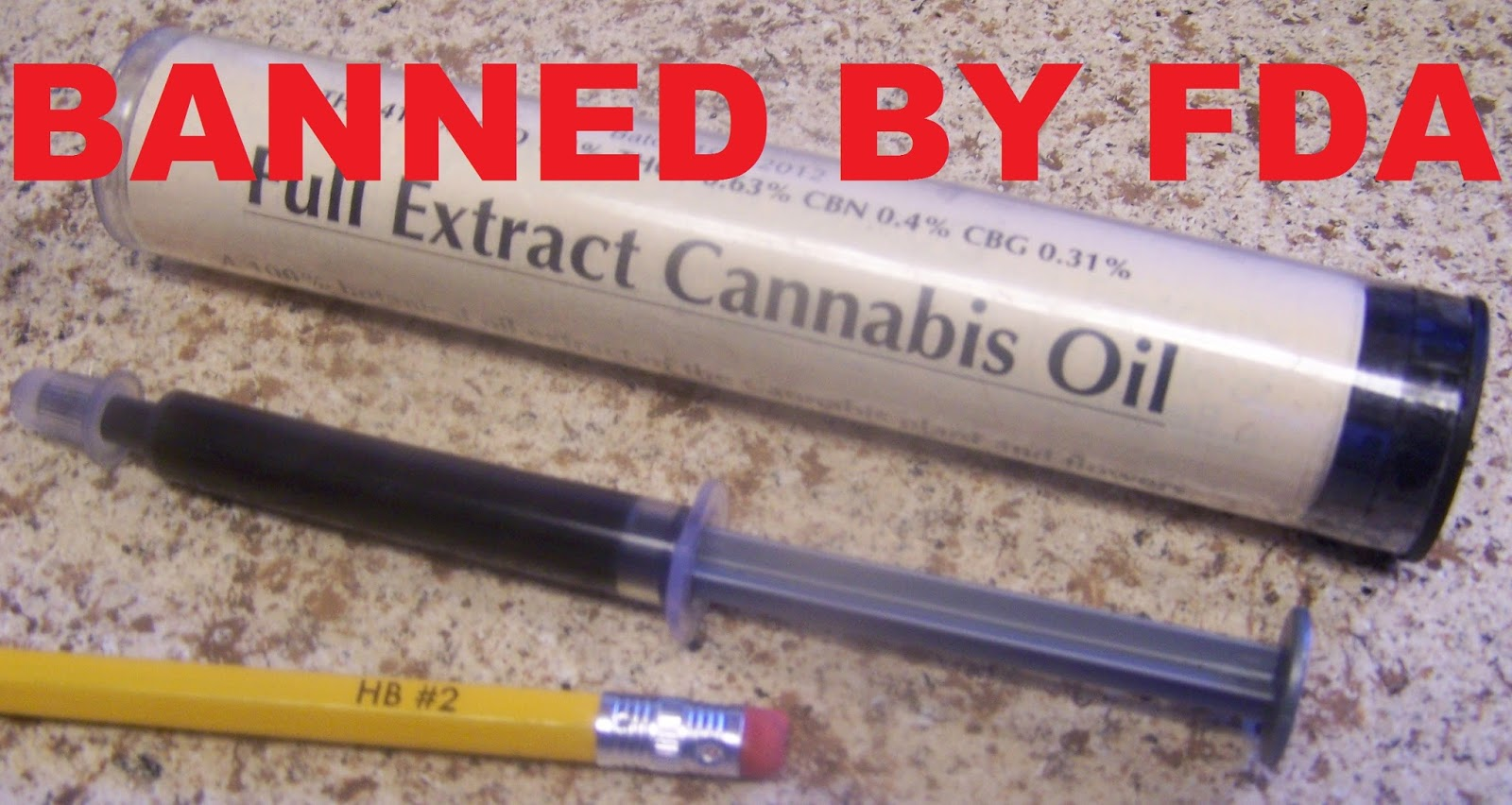 Cannabis Oil - Banned by FDA