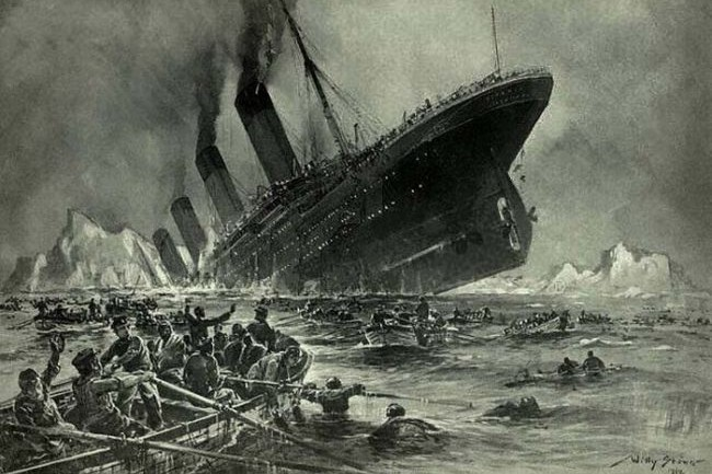 The Iceberg That Sunk The Titanic Was At Least 100,000 Years Old
