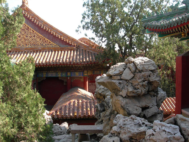 "China, Qianlong Garden ""Adjacent to Lodge of Retirement"" October 2005 ©WMF/Michelle Berenfeld original - digital CD ""China October 2005/ICOMOS 2005 Xi'an"""