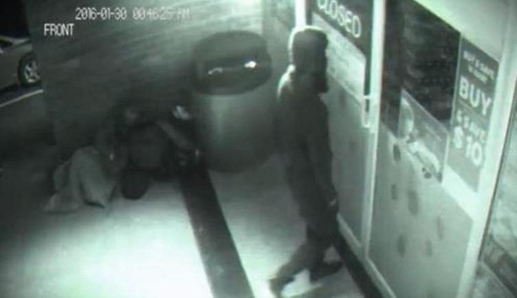 Man Caught In CCTV Going Through Wall See It For Yourself