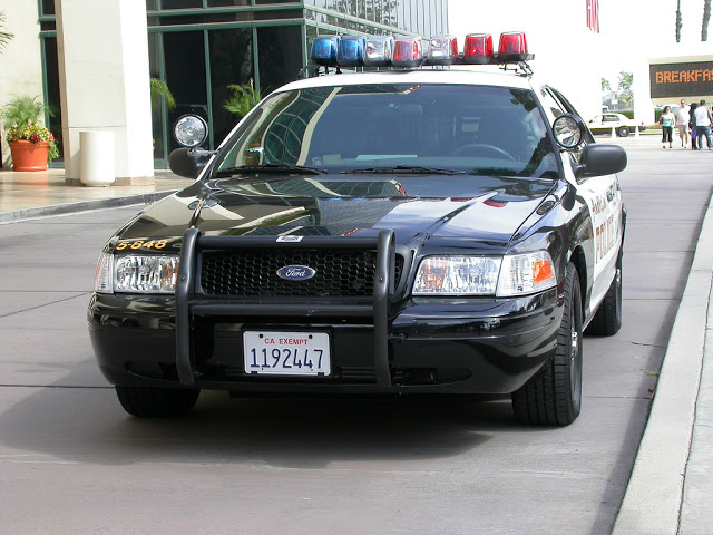 CA Exempt Licence Plate