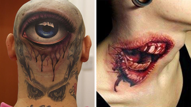 Demonic-3D-Tattoos
