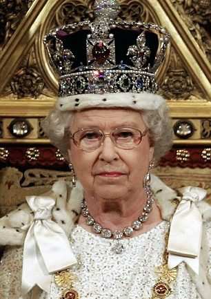 """Woman In Jewel Encrusted Crown Tells Britain To """"Live Within Its Means"""""""