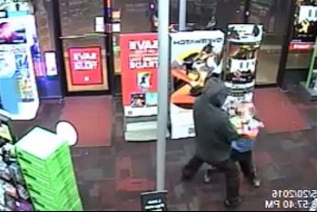 Fearless 7 Year Old Takes On An Armed Robber