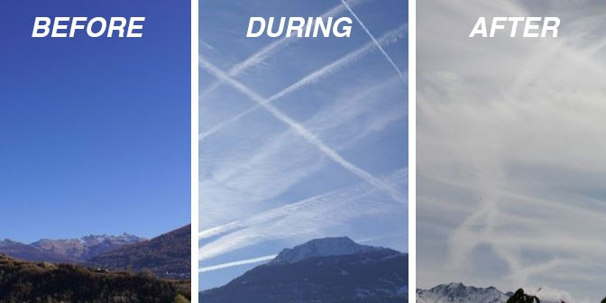 """FOR THE LAST TIME: CHEMTRAILS ARE NOT A """"CONSPIRACY THEORY"""""""