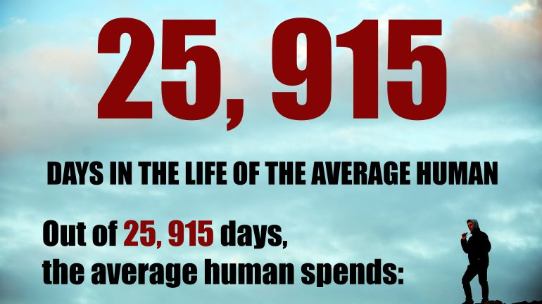 Your Lifetime by the Numbers