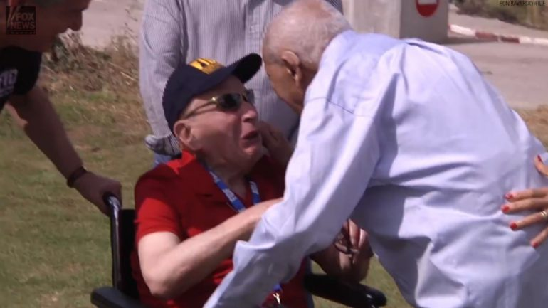 71 Yrs Ago He Freed A Man From This Concentration Camp. Today They Meet Face To Face… And It's So Beautiful