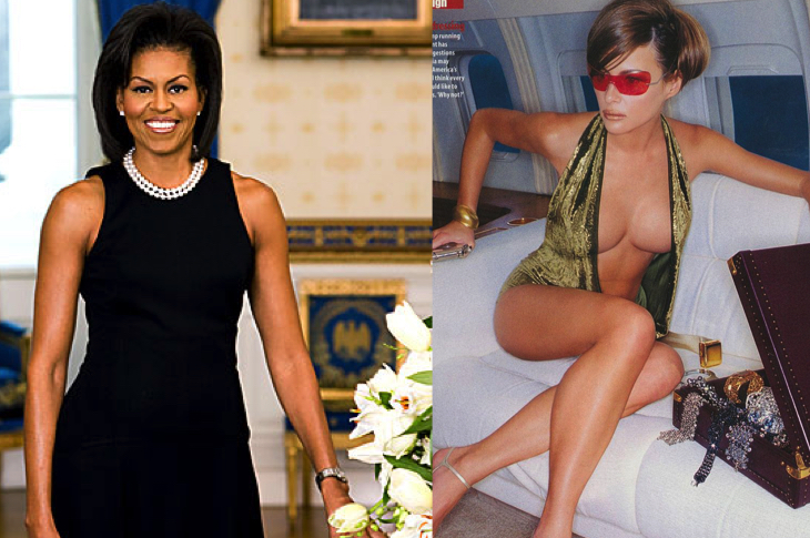 First lady naked 1