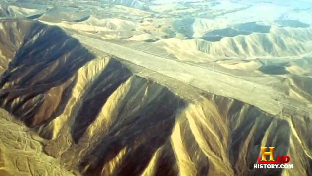 One of the World's Greatest Mysteries: What Happened to this Mountain Top in Nazca, Peru?