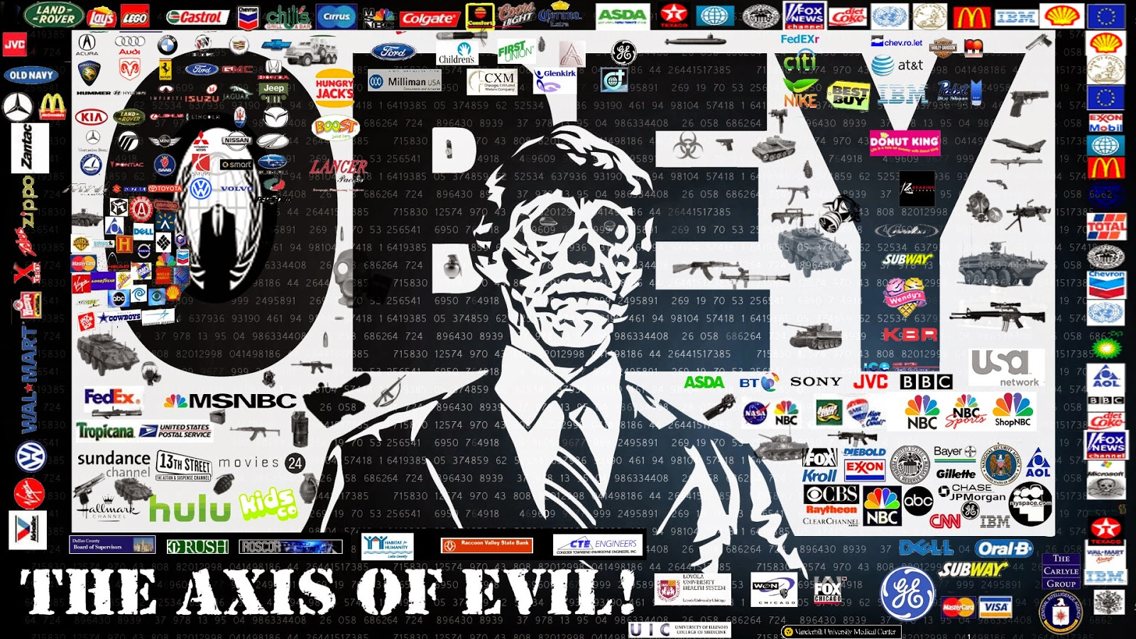 The Axis of Evil - Obey!