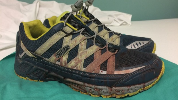 Photo of Orlando ER Doctor's Blood-Stained Shoes After Tragedy Goes Viral