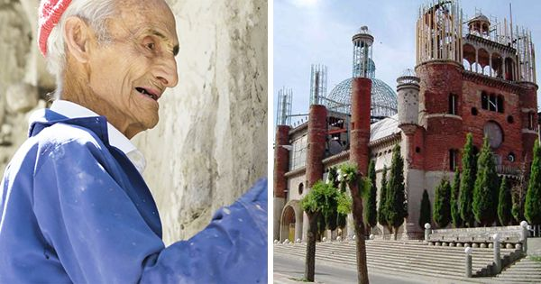 He Started Building A Cathedral In 1963 By Himself, By Hand….. 53 Years Later The Result Is Astounding