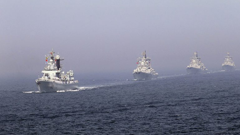 Beijing Ready To Confront Washington If It Intervenes in S.China Sea Dispute