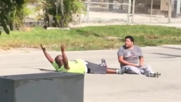 Miami Police Shoot Unarmed Caregiver as He Lies on Ground Beside Autistic Patient