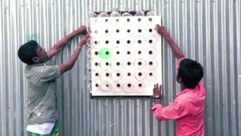 These People Are Using Plastic Water Bottles To Cool Their Homes