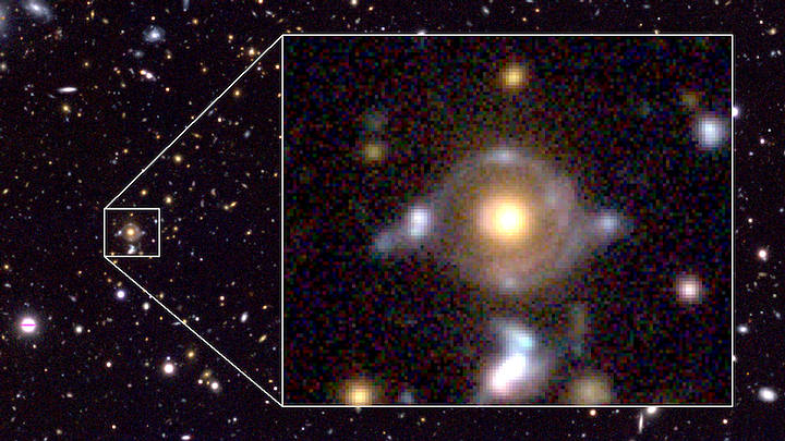 Astronomers Spot 'The Eye of Horus' In Outer Space