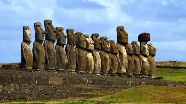 Potent Anti Aging Bacteria Discovered at Easter Island's Moai Statues