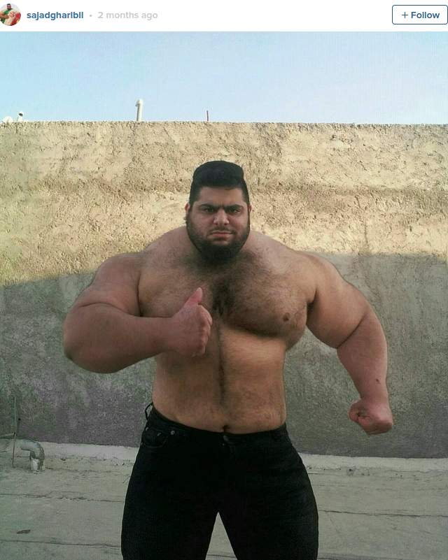 Supersize Iranian 'Hulk' signs up to help crush ISIS in Syria PHOTOS — RT Viral