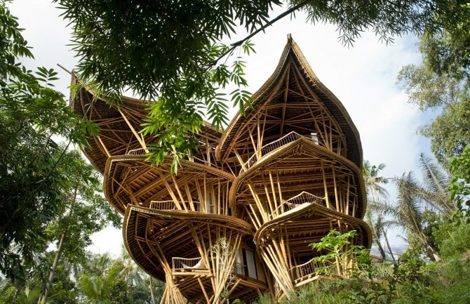 THIS SIX STORY BAMBOO VILLAGE TAKES TREE HOUSES TO A WHOLE NEW LEVEL