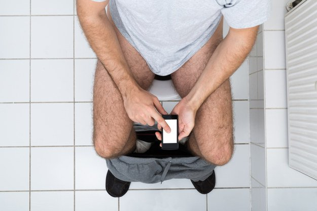 You Will Definitely Not Take Your Phone To The Bathroom After This