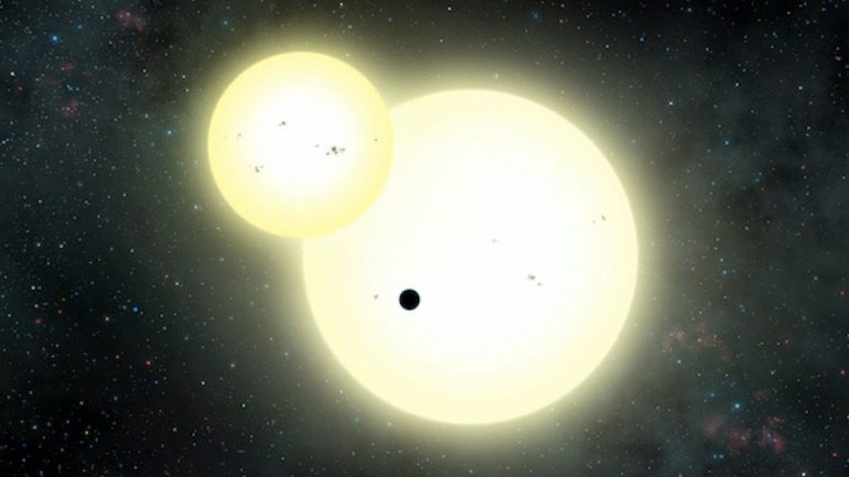 Amazing Photo Shows Likely Alien Planet 1,200 Light Years Away