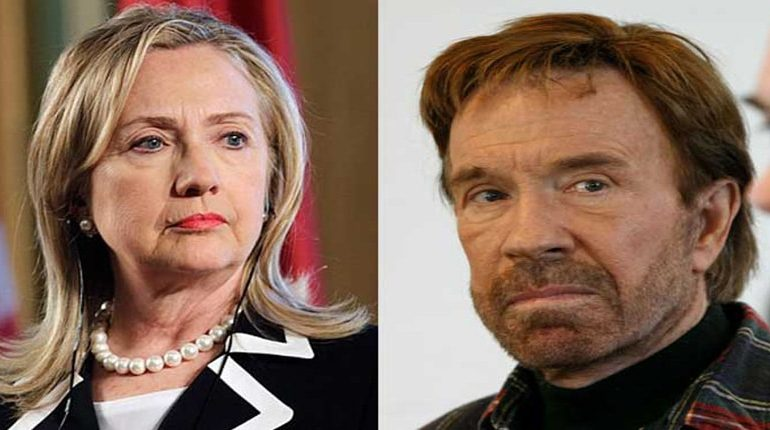 Chuck Norris Says Clinton Will Commit Massive Vote Fraud