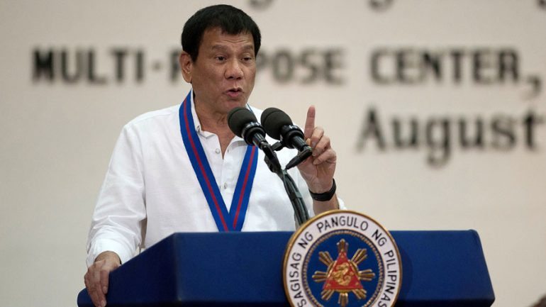 Philippine President Threatens To Leave 'Stupid' UN