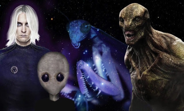 A-Z List of Aliens Operating on Earth Throughout History