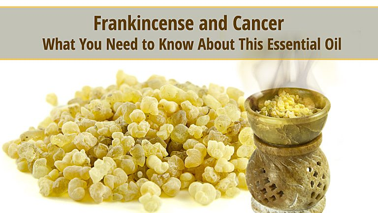Frankincense and Cancer – What You Need to Know About This Essential Oil
