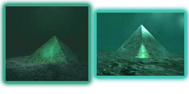 Two Giant Underwater Crystal Pyramids Discovered In The Center Of The Bermuda Triangle! (1)