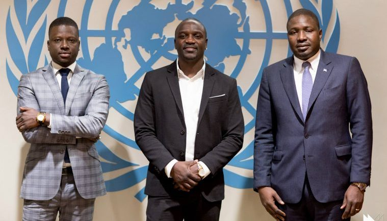 AKON PROVIDES ELECTRICITY TO 80 MILLION AFRICANS