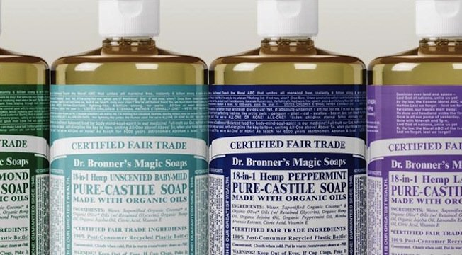15 THINGS YOU DIDN'T KNOW ABOUT DR. BRONNER & HIS MAGIC SOAP