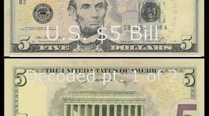 Five Dollar Bill Hidden Images Reveal Obama Martial Law