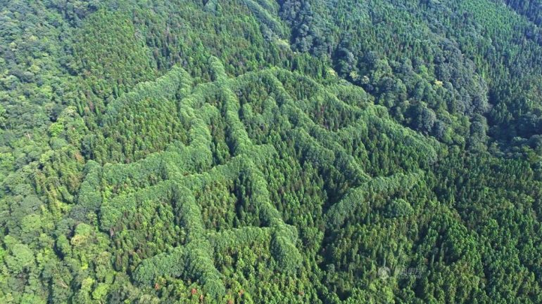 Mysterious Pattern Discovered On Chinese Mountains: An Ancient Message?