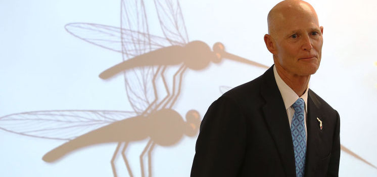 Florida Governor Has Financial Ties To Zika Mosquito Company