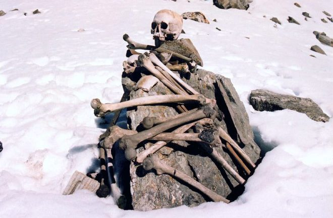Himalayas's Skeleton Lake Mystery Solved…. And It's Hiding Something Horrible