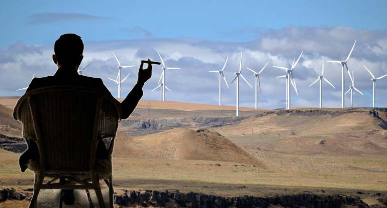 """State Now Claims It Owns the Wind — Taxing Renewable Energy """"Out of Existence"""""""