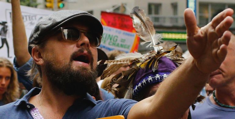 Leonardo DiCaprio Stands With Great Sioux Nation To Stop Dakota Access Pipeline