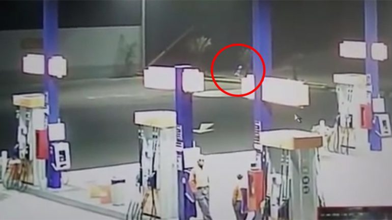 Floating Alien With Teleportation Abilities Caught Camera In Peru