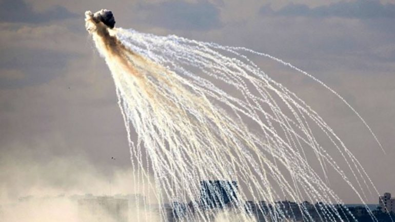 US Troops Use White Phosphorus in Iraq To 'Obscure' Kurdish Forces