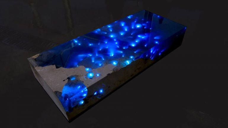 Starry Sea Table That I Created After 1.5 Years Of Research And Tests