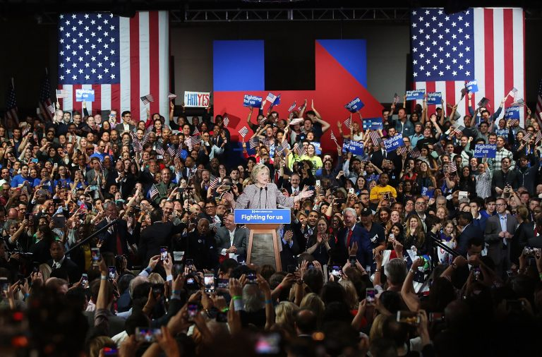 entire-us-presidential-election-is-fake-from-start-to-finish-photoshopped-composite-photo-of-hillary-clinton-rally-768x506