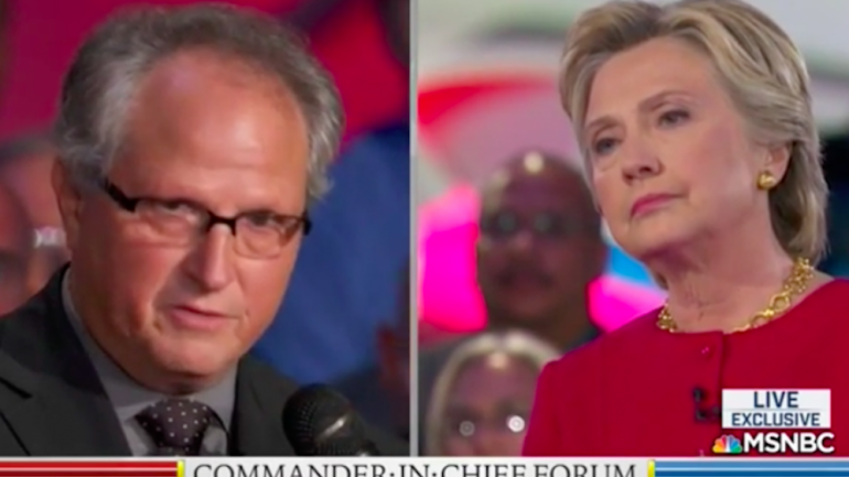 Military Veteran Tells Hillary To Her Face: I'd Be in Prison For Doing What You Did