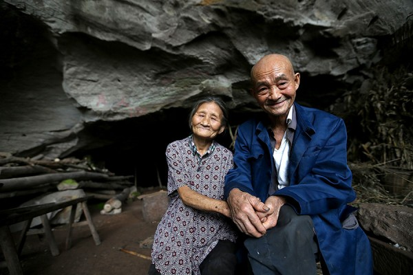Chinese Couple Have Been Living in a Cave for the Past 54 Years